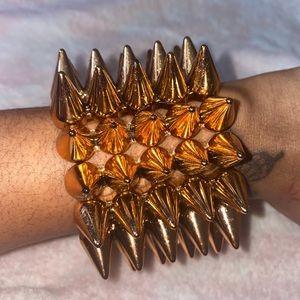Spike bracelet ready to be sold !!